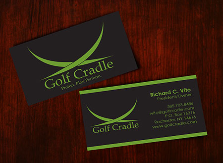 Nerd robot design studio rochester ny golf cradle business cards reheart Choice Image